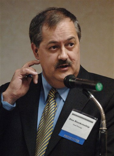 Don Blankenship, Massey Coal