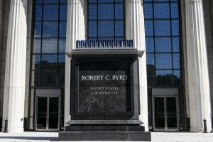 SAM OWENS | Gazette-Mail The Robert C. Byrd Federal courthouse in Charleston, Wednesday, October 7, 2015.