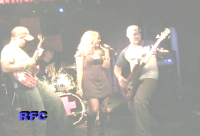 Alan, Travis, Annie and Andy, rockin' out!