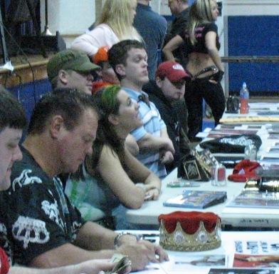 Lawler, Daffney, Velvet Skye, meet the fans.