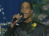 Scary mofo singing. What is he, a freaking Sleestack?