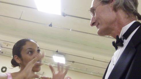 Tasha Nicole Harris chats with outgoing KP Head Honcho, John Halstead