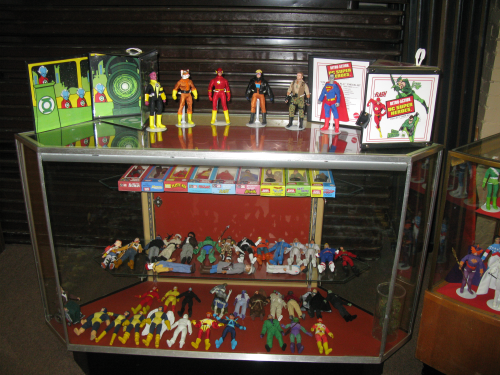 A display case full of amazing work!