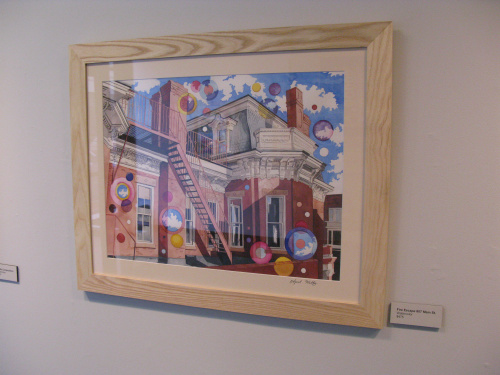 The phenomenal color work of April Waltz is on display at The Art Emporium.