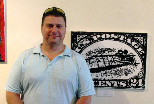 The artist, Scottie Stowers, himself