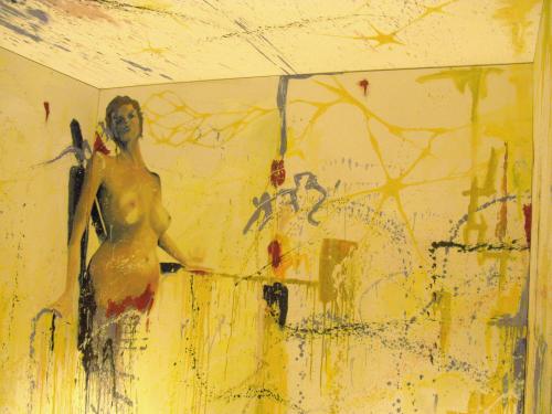 A peek inside the EVOl immersion room of Liz Vicious