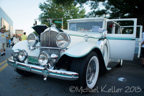 The 1930 Packard, many thanks to Michael Keller for the photo!