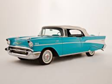 """Donations of 1957 Chevy Bel Airs are being taken by the PopCult """"Rudy Want One"""" Foundation"""