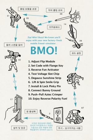 One page of the BMO manual