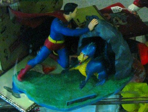 The Aurora Superboy model kit