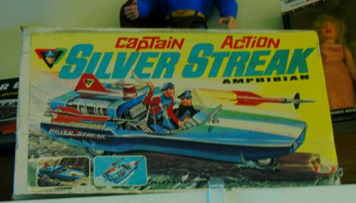 A heart-stopping sight: my first in-person viewing of the ultra rare Captain Action Silver Streak