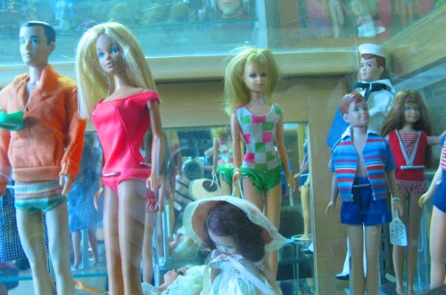Barbies and Kens and more