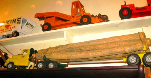 This log truck was gigantic