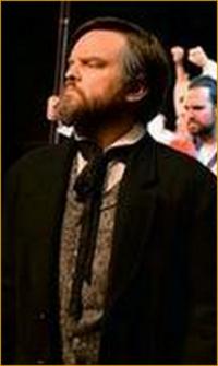 "Ryan Hardiman as General Zod in ""Les Miserables"""