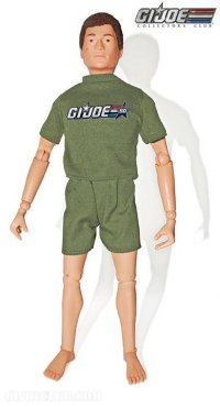 """Hi, remember the original GI Joe, the one that's celebrating his fiftieth birthday this year?  I'm him!"""