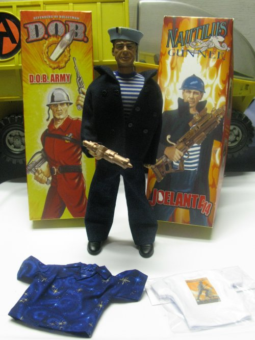 The Commander's Package exclusive figure, alongside the D.O.B. show exclusive