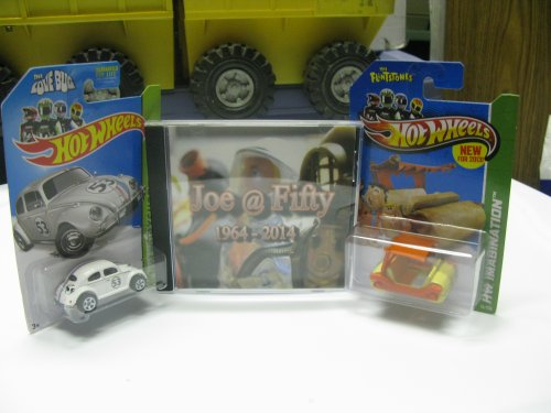 Tim and Lisa Weedn's hilarious film is flanked by a couple of cool Hot Wheels.