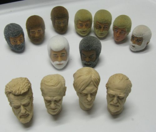 I got heads from a variety of dealers, and I will post links to their sites later this week.