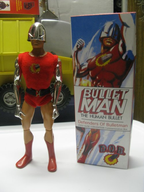 When I got him, he came with a commemorative box from 2003. The figure was released in the mid-1970s.