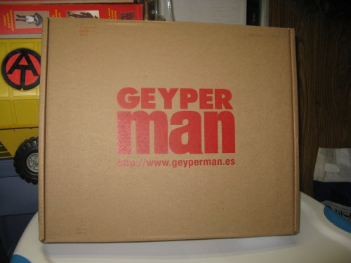 Geyberman even came in a cool shipping case