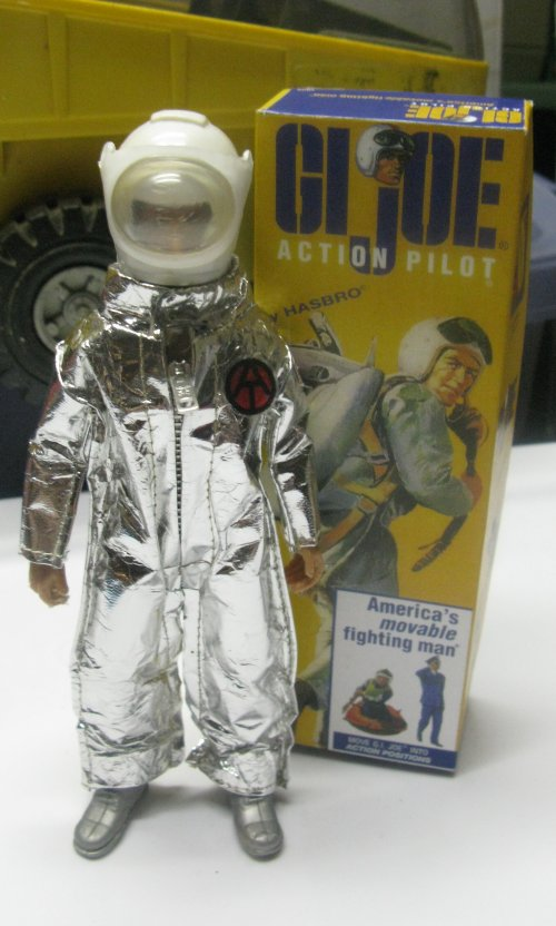 A MEGO-sized Astronaut, with a MEGO-sized Pilot box, snagged at Swapapalooza on Friday night