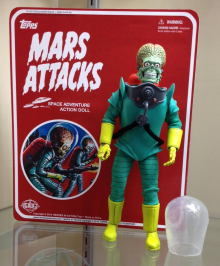 Mars Attacks from Heroes In Action, coming later this year