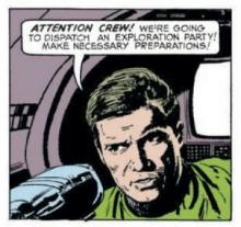 Captain Kirk, by Zeccara