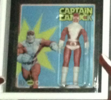 A fuzzy image of the elusive Captain Canuck