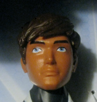 Close-up of the headsculpt
