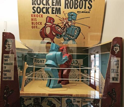 The original Rock Em Sock Em Robots