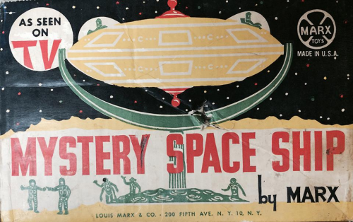 The Mystery Space Ship box