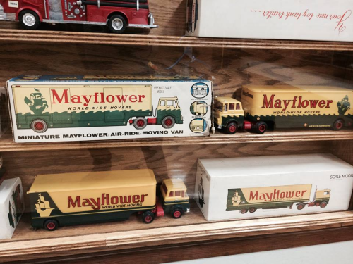 Mayflower trucks