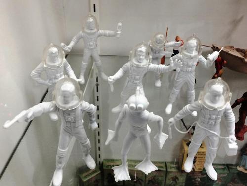 Rare four-inch astronauts
