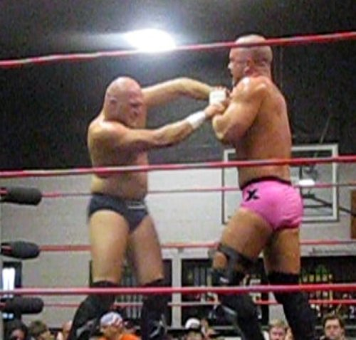 Who knew that the split-up of Right Said Fred was so bitter that it had to be settled in the ring?