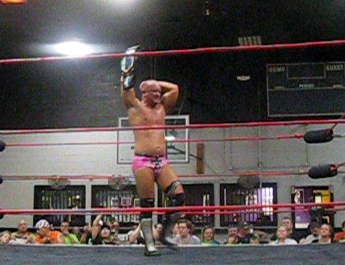B.J. Whitmer retains his title as IWA EC World Heavyweight Champion