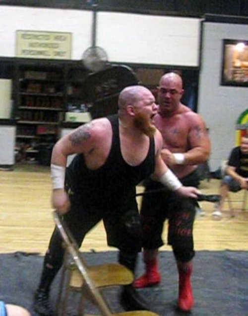 A brutal falls count anywhere match