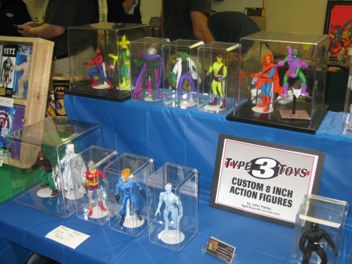 Type 2 Toys always has some cool custom figures on display