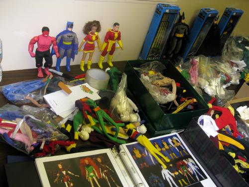 Custom superheroes and customizing supplies