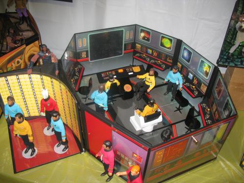 This Star Trek display area is just epic