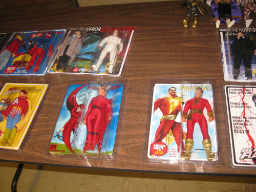 It's the table full of customs for the big MEGO Meet Auction...photo #3