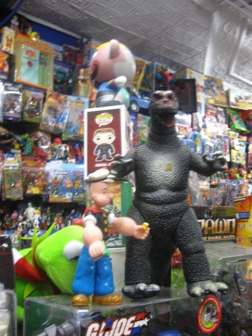 Popeye vs. Godzilla