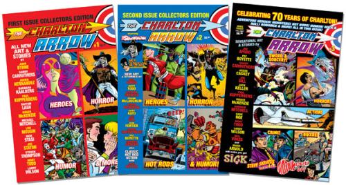 The Charlton Arrow, bringing fun back to comics