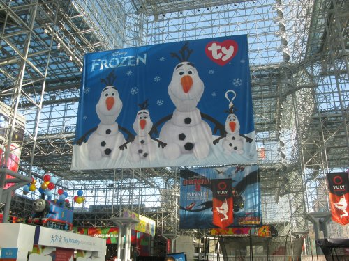 """There were over 1,100 toymakers at Toy Fair. Every other one had some kind of """"Frozen"""" toy."""