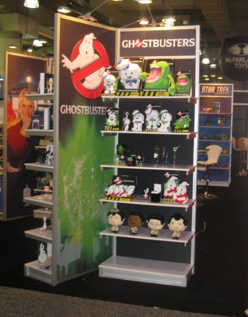 Some of the many pop culture toys from Underground Toys.
