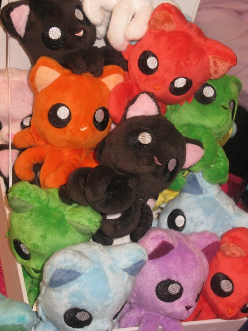 More colorful Tentacle Kittys