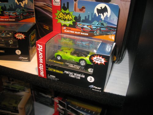 More Batman slot cars are on the way.