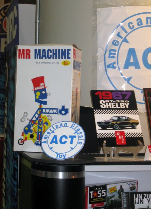 Round2 is testing the waters for some classic toys like Mr. Machine...
