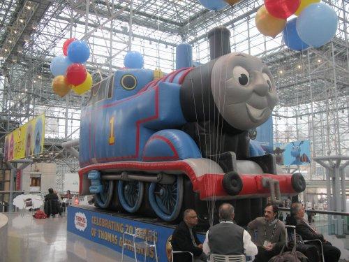 Thomas celebrated 75 years of chugging along.