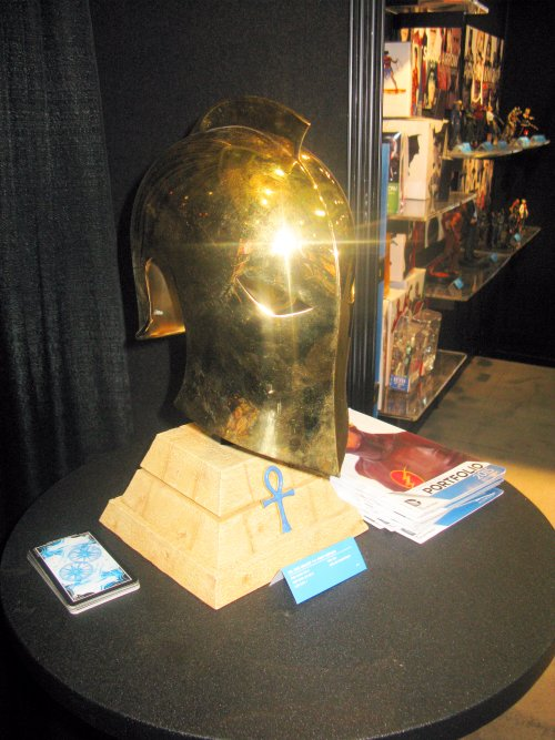 This one wins the award for coolest expensive thing that I don't have room for anyway, DC Collectibles is offering a replica of Dr. Fate's Helmet.