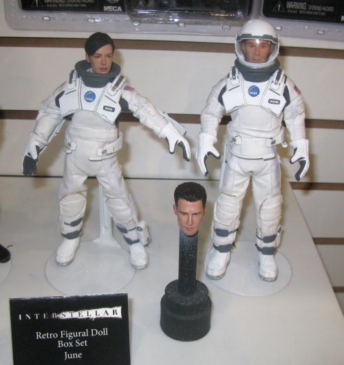 MEGO-style figures from Interstellar. They looked amazing in person.